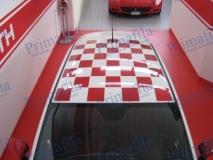 automezzi decorazione parziale wrapping torino car